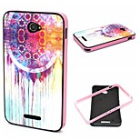 2-in-1 Dream Catcher Pattern TPU Back Cover + PC Bumper Shockproof Soft Case For Sony E4