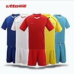 Futebol - Conjuntos de Roupas/Ternos ( Azul Céu ) - Homens - Respirável - Manga Curta