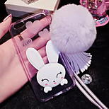 LADY®Elegant/Luxurious Phone Case for iphone 5/5s(4.0 inch), Cartoon Style Decorated with Silicone Material