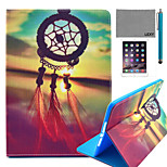 LEXY® Chinese Knot Pattern PU Leather Flip Stand Case with Screen Protector and Stylus for iPad Mini 4