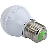 HRY® 3W E27 10XSMD2835 250LM Warm/Cool White Light Bulbs LED Globe Bulbs(220V)