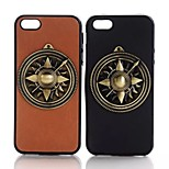 Metal PC Wild Europe and America Mobile phone Case for iPhone5/5S