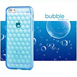 High Quality Air Bubble Pattern TPU Back Cover for iPhone 6 (Assorted Colors)