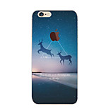 Star Deer Pattern TPU Soft Case for iPhone 6/6S
