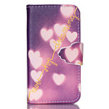 Never Stop Dream Pattern PU Leather Full Body Case with Stand and Card Slot for iPhone 4/4S