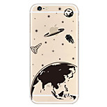 Earth Pattern TPU Material Phone Case for iPhone 6 Plus/6S Plus