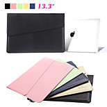 Fashion Waterproof PU Leather Notebook Laptop Sleeve Bag & Case for Apple Macbook Air Pro 13.3