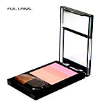 FUL.LANS. The colourful shadow cheek is red. Lightsome soft Fully natural. 4 COLOR. F-0020  4.7g