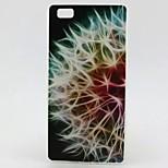 Dandelion Pattern TPU Material Phone Case for Huawei P8 Lite
