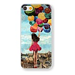 The Balloon Girl Pattern PC Hard Case for iPhone 5/5S