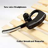 Anti-radiation Bluetooth Headset Wireless Phone Music Headphones for Samsung s5 s6