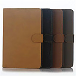 Retro Stripe Simple Flip Case Support Leather Case Computer Protection Shell for iphong ipad mini 4 Assorted Colors