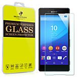 Mr.northjoe® Tempered Glass Film Screen Protector for Sony Xperia Z3+ / Z3 Plus