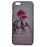 Elephant Pattern PC Material Phone Case for iPhone 6/6S