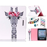 Special Design Novelty Folio Case PU Leather Coloured Drawing or Pattern Holster for iPad air