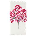 Eulen-Baum-Muster PU Ledertasche mit Magnetverschluss und Einbauschlitz für iPhone 6 / iphone 6s