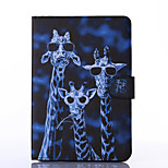 Crazy Deers Pattern PU Leather Full Body Case with Stand for iPad  Mini 4