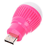 USB White Light Energy Saving Night Lamp Bulb