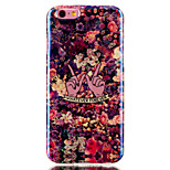 Floral Pattern Blu-ray IMD Cell Phone Case for iPhone 6 /6S