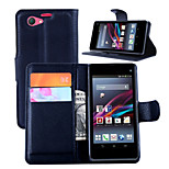 Litchi Grain Protective Cover For The Protection Of Xperia Z1 Compact Sony Mobile Phone