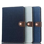 Cowboy Card Slot Simple Flip Case Support Leather Case Computer Protection Shell for iphong ipad mini 4 Assorted Colors