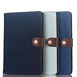 fente pour carte cowboy cas simple flip coque en cuir de soutien affaire de protection de l'ordinateur pour iphong Mini iPad 4 couleurs