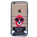 roten Hut Hund TPU und PC-Material Combo Telefonkasten für iphone 5 / 5s