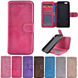 Crazy Horse Pattern PU Leather 2 in 1 Detachable Phone Full Body Cases for iPhone 6/ 6S 4.7 inch