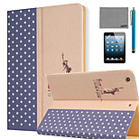 LEXY® Big World Pattern PU Leather Flip Stand Case with Screen Protector and Stylus for iPad Mini 4