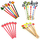 Colorful Design Pencil Set(Assorted Pattern)