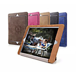 Retro Ultra Slim PU Leather Smart Auto Sleep and Wake Up Folio Case with Stand for iPad Air Ipad 5 (Assorted Colors)
