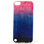 Star Painting Pattern TPU Soft Case for iPod Touch 5/Touch 6
