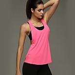 Running Tank / Tops Women's Wearable / Compression / Lightweight Materials / Soft / Sweat-wicking TeryleneYoga / Pilates / Fitness /