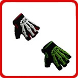 Bicycle Gloves Half Finger Bike Cycling Anti-Slip Breathable Hand Skeleton Pattern Fingerless Motorcycle Gloves M/L/XL