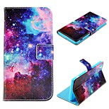 The Starry Sky Design PU Leather Case for Sony Xperia Z3 / Z3 Compact