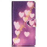 Dream Of Love Pattern PU Leather Phone Case For Sony M4