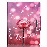 Dandelion Pattern PU Leather Full Body Case With Stand for iPad 4/iPad 3/iPad 2