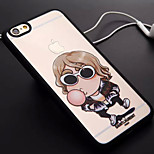 Blowing Bubbles Pattern TPU and PC Material Combo Phone Case for iPhone 6/6S