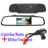 Rear View Camera Monitor for Chrysler/Chevrolet/Chevrole/Cadillac/Buick/BMW/Audi/Alfa/Acura/Aston Martin/Lincoln/Renault