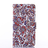 Classical Flowers Pattern PU Leather Full Body Case with Stand for Nokia N640
