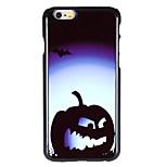 Halloween Style Midnight Pumpkin Pattern Allunium Back Case for iPhone 6 Plus