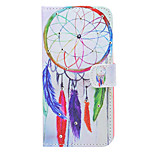 Dream Catcher Pattern Diamond Style PU Leather and TPU Full Body Case for iPhone 6S/6 Plus