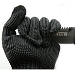 1 Pair Stainless Steel Metal Mesh Working Protective Gloves Cut-resistant Anti Abrasion Safety Cut Resistant Level