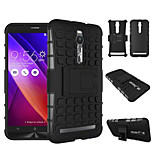 TPU+ PC Hybrid Rugged Rubber Armor stand Hard Cover Cases For Asus Zenfone 2 ZE550/ZE551