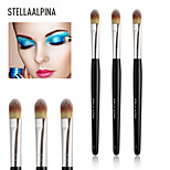 Stellaalpina Eyeshadow Brush Synthetic Hair Professional Wood Eye