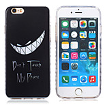 New Violence Vampire teeth  Pattern TPU Material Phone Case for iPhone 6 / 6S