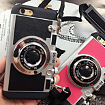 TPU Combo Stereo Camera and PC Phone Case for iPhone 6 /6S (Assorted Colors)