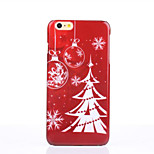The Christmas Lights Pattern Glossy Surface PC Hard Phone Case for iPhone 6S/6