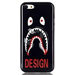 Eye tooth Pattern TPU Phone Case for iPhone 5C