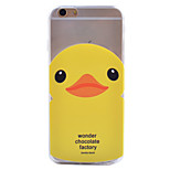 Little Duck Pattern TPU Material Phone Case for iPhone 6/6S